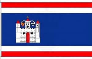 Königsbanner Hochformatflagge Groß-Umstadt - 150 x 500cm - Flagge und Fahne