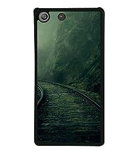 PrintVisa Life Is A Journey High Gloss Designer Back Case Cover for Sony Xperia M5 Dual :: Sony Xperia M5 E5633 E5643 E5663