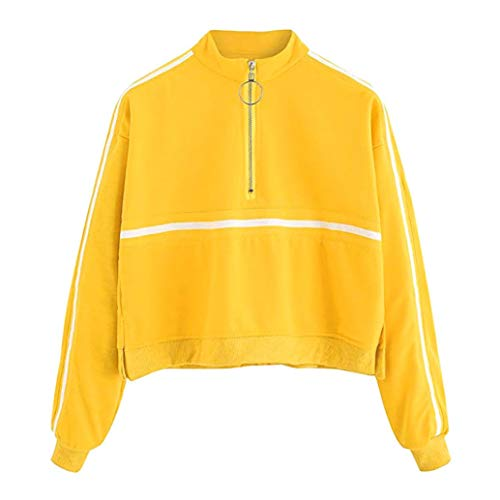 aaba54dae Overdose Sudadera Casual Womens Long Sleeve Sweatshirt Jumper Pullover  Strapless Blusa Top Lady Tops