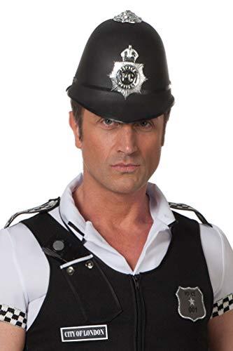 ut Polizei Bobby Polizistin Hut London UK Herren-Hut ()