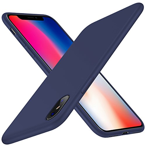 Mejor funda silicona para iPhone X de hoco