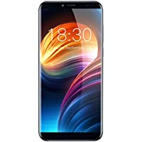 Cubot X18 Smartphone 4G Téléphone Portable Débloqué (Écran: 5.7 Pouces HD Rapport d'Aspect 18:9 - 3GB+32GB - Android 7.0 - Caméras 13 + 16MP - Double SIM - Ultra-Slim - Empreinte Digitale - WIFI) Bleu