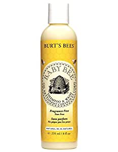 Burt's Bees Baby Bee Fragrance Free Shampoo and Wash, 235ml
