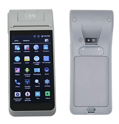 HiDON 5,5-Zoll-Android-PDA-Handhelds mit POS-Thermobondrucker, NFC und Kameras können 1D / 2D-Barcode lesen Cdma-pda