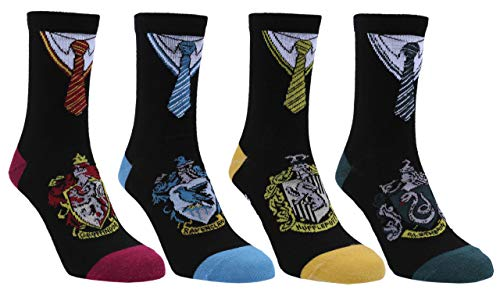 4 x calcetines negros HARRY POTTER 2-3 lata