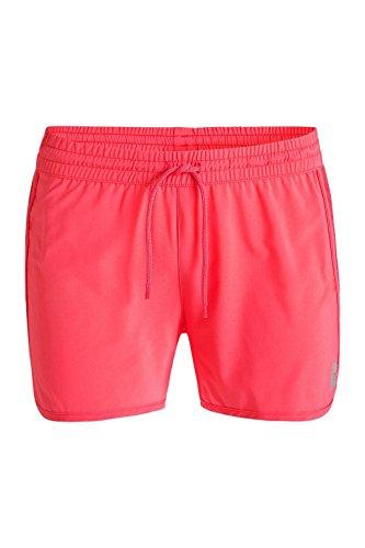 Esprit Active/Training Webstrechshorts, Pantalon de Sport Femme Rouge - Rot (CORAL RED 640)