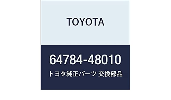 Toyota Genuine 64784-48010 Spare Wheel Cover