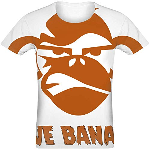 Gib Banane - Give Banana Sublimated T-Shirt Jersey Top for Men & Women All Over Print Unisex Clothing Large -