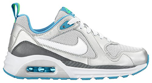 Nike Mädchen Air Max Trax (Gs) Sneaker blue lagoon-electric green-black-metallic