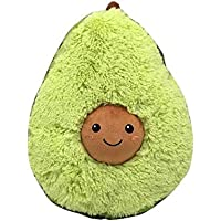 lulalula Stuffed Plush Avocado Toys Pillow Comfort Food Avocado Plush Pillow Doll Christmas Birthday Valentine's Gift