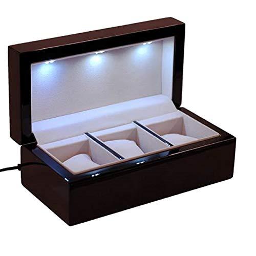LED Uhrenbox I-Sol 3 zum Laden von 3 Solaruhren