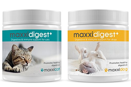 maxxipaws maxxidigest+ Probiotics, Prebiotics and Digestive Enzymes - Digestive and Immune Support Supplement for Cats – Powder 200 g 8