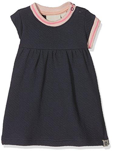 Papfar Mädchen Bubble Pique Baby Kleid, Blau (Blue Nights 287), 98 (Herstellergröße: 3Y) Blue Bubble Kleid