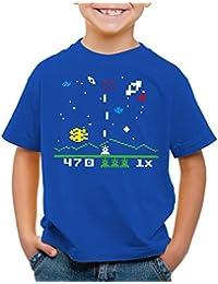style3 Sheldon Alien Invader T-Shirt pour enfants