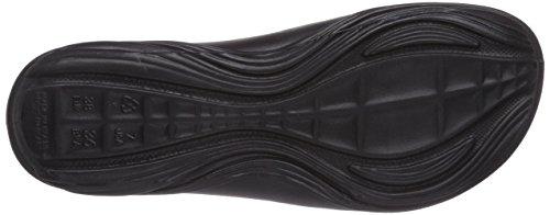 Rider Key Vii, Chaussures de Claquettes femme Noir - Schwarz (Black/Pink 23757)