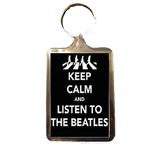 Footie Gifts The Beatles - Keep Calm Keyring