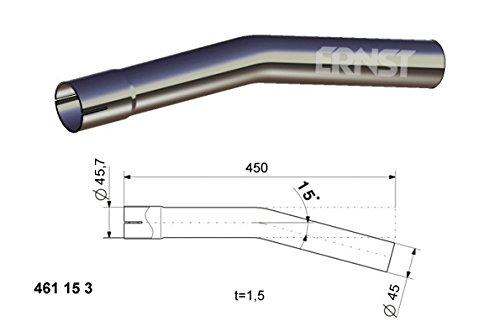 Desconocido Inconnu Tube Chauffage truma Int/érieur 60/mm et Ext/érieur 65/mm