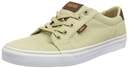 vans-bishop-mens-low-top-sneakers-beige-textile-khaki-potting-soil-7-uk-405-eu