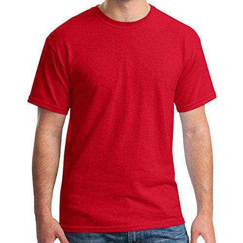 Molly Maglietta Regular Fit Collo Rotondo Manica Corta Uomo Rosso XL