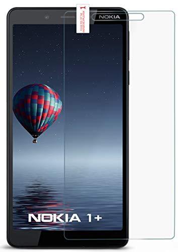 moex 9H Panzerfolie für Nokia 1 Plus | Panzerglas Display Glasfolie [Tempered Glass] Screen Protector Glas Displayschutz-Folie für Nokia 1 Plus Schutzfolie