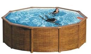 Giant Wood Komplettset Pool 4,60 m x 1,20 m
