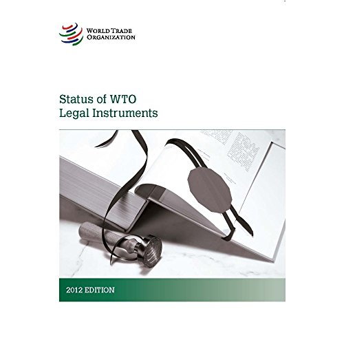 OMC, Situacion de los instrumentos juridicos / TWO Status of Legal Instruments: Una Actualización Completa De La Situación De Los Instrumentos ... Update of the Status of the Legal Instruments