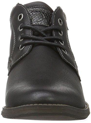 Tom Tailor 1685101, Bottines non doublées homme Noir (Black)