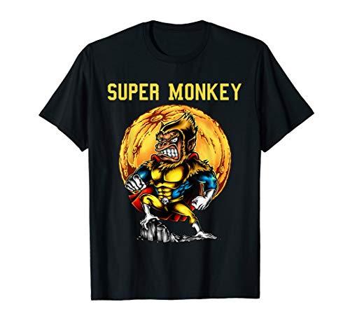 Super Gorilla Kind Kostüm - Karneval Super Monkey Gorilla Affe Kostüm