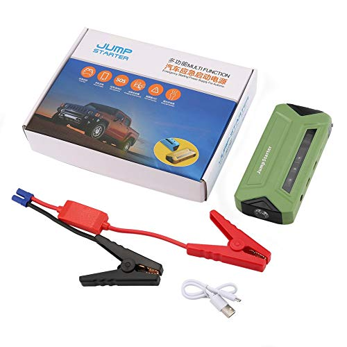 fengwen66 Portable Car Jump Starter Booster 30000mAh Emergency Starting Power Supply(Green)