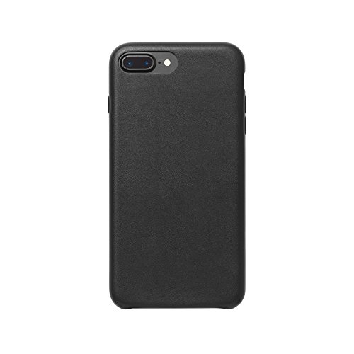 AmazonBasics - Carcasa fina de poliuretano para iPhone 7 Plus (negro)