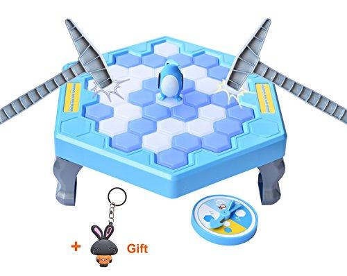Preisvergleich Produktbild Pinguin-Falle Brettspiel Eis brechen speichern Pinguin Kinder frühe Bildung Brettspiel Spielzeug-Pinguin Trap aktivieren Mini Tischspiel