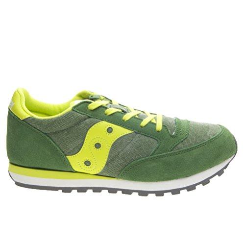 SAUCONY SY55552 JAZZ grün, gelb, grün Schuhe Junge Junge Schlinge Grün