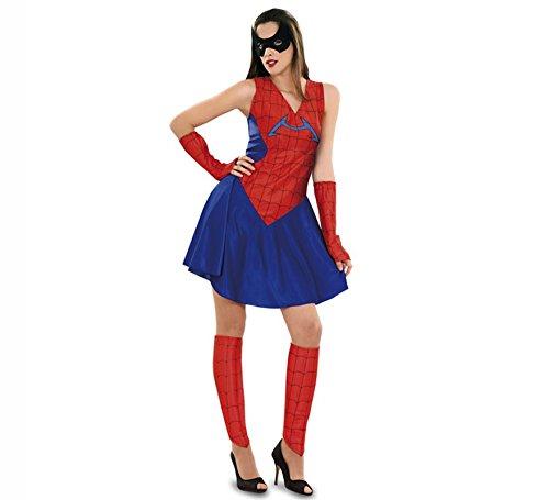 Imagen de disfraz de insecto araña para mujer talla m l