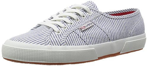 Superga 2750 Cotu Shirt, Baskets Basses femme
