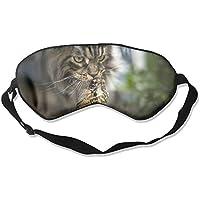 Eye Mask Eyeshade Cat And Bird Sleep Mask Blindfold Eyepatch Adjustable Head Strap preisvergleich bei billige-tabletten.eu