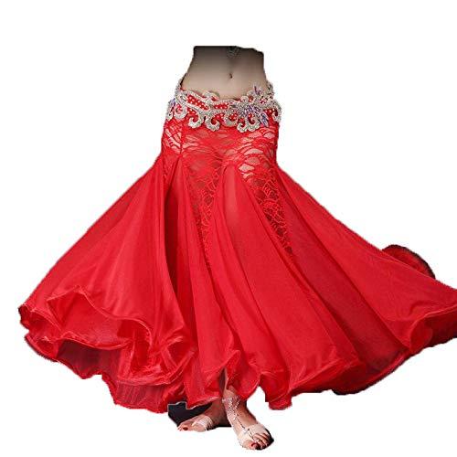 JTIH® Belly Dance Kostüme - Bauchtanz Rock, großer Swing Rock, Stoff: Spitze