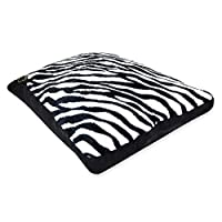 SFM Extra Large Animal Print Luxury Pet Bed Warm Soft Pillow Cushions Cats Dogs Washable Home (extra large 78 x 120 cm, Zebra)