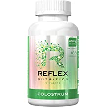 Reflex Nutrition 450mg Colostrum, Pack of 100 Capsules