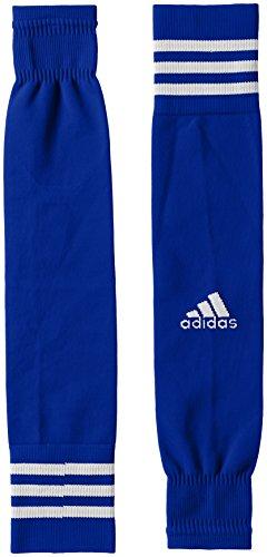 adidas Kinder Team Sleeve 18 Stutzen, Bold Blue/White, EU 34-36