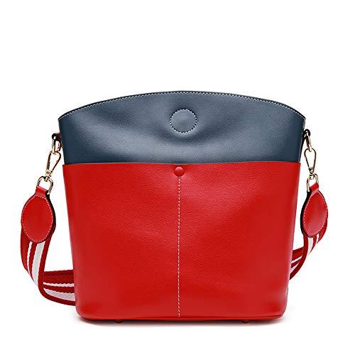 NOBIE, Neue Handtaschen Aus Leder Damen Umhängetasche Eimer Tasche Große Kapazität Einzigartiger Stil Um Ihren Täglichen Bedürfnissen Gerecht Zu Werden,D