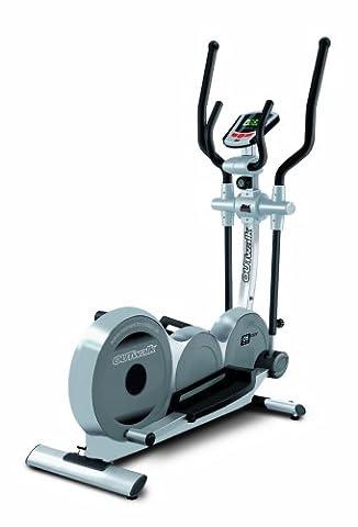 Tecnovita by BH - Vélo elliptique OUTWALK G2530O. Frein magn. Sist. Inertie de 14 kg. Foulée de 40 cm. Moniteur LCD. 8 niveaux (manuelle). Bâtons réglables