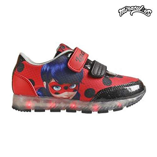 Cerdá Lady Bug, Sneakers Basses Fille, Rouge (Rojo C06), 29 EU