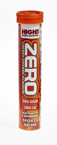 High 5 - Zero - Tabletas de Hidratación - Sabor Cereza/Naranja