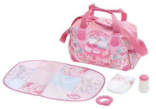 Zapf Creation 794487 - Baby Annabell, Wickeltasche, rosa