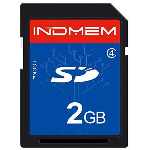 INDMEM SD Card Class 4 SLC Secure Digital Flash Speicherkarte 2G - High Speed 2 Gb Sd-karte