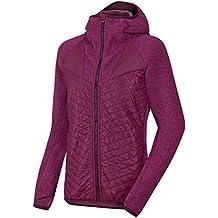 Salewa Fanes Hybrid Jacket Giacca da donna, Donna, Giacca, Fanes Hybrid Jacket - Jacke Damen, Red Onion Melange/6520, 42