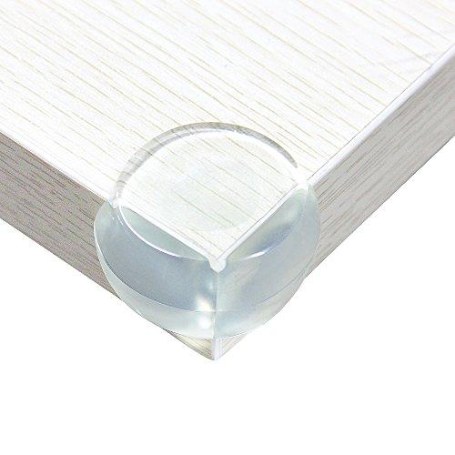 Zilong Kindersicherheit Kantenschutz& Kindersicherung Eckenschutz für die Tischkante, transparent, 20 Stück