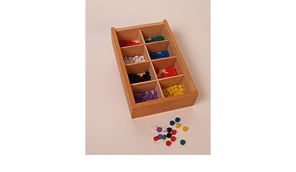Spielzeug SINA Gabe 6 Fröbel Spiel Quader 25mm  NEU Holz Spielzeug Erzgebirge