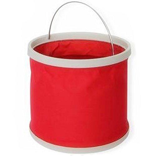 toile Jardinage en toile de pliage Godet stockage seau de coffre,red