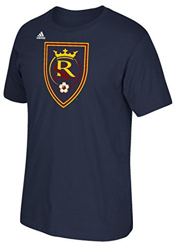 Real Salt Lake Adidas MLS Primary Logo Men's Short Sleeve T-Shirt - Navy (Lake Shirt Sleeve Short)